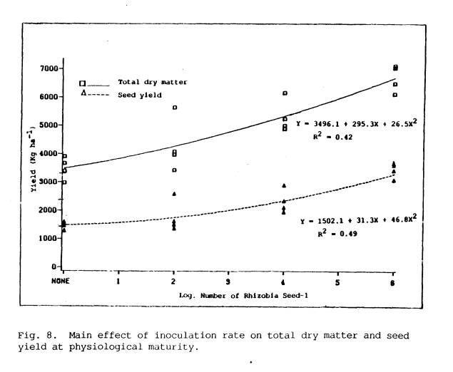 effects of rhizobia in plant yield Paper deals with the effectiveness of the growth of vigna mungo l using liquid biofertilizers, such as azospirillum, rhizobium number of pods per plant, seed yield per plant were increased with the biofertilizer inoculants effect of liquid biofertilizers on growth and yield.