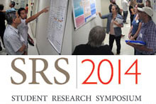 The Student Research Symposium logo and images