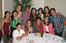 CTAHR students at 24th Annual Awards Banquet