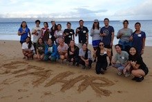 CTAHR students for Maui Meaningful Experience