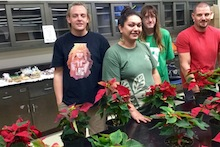 TPSS GSO and Horticulture Society poinsettia sale
