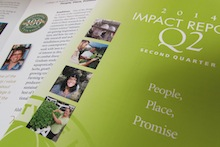 Image of cover of 2nd quarter 2014 Impact Report