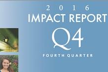 Cover of Q4 2016 Impact Report