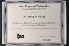 Ju-Young Kang award