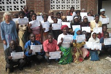 Ngolowindo Coop with certificates