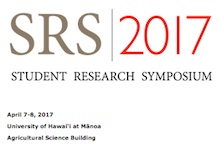 Student Research Symposium 2017 logo
