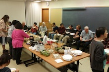 TPSS Thanksgiving potluck lunch