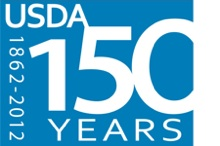 USDA 150th anniversary logo