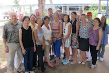 Master Gardeners at Arizona Memorial