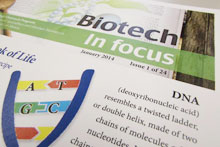 The Biotech in Focus publication