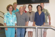 CTAHR dietetics program accreditation team