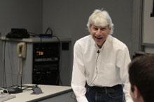 Bob Goldberg giving a lecture