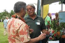 Governor Ige and Alton Arakaki