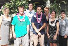 Hauoli Mau Loa scholarship recipients
