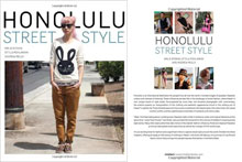 The covers of Honolulu Street Style