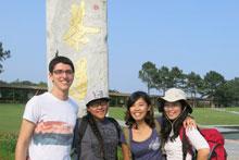 David Shepard, Aleta Corpuz, Flora Chen, and Hye-Ji Kim.