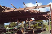 Hurricane damage to Waiakea