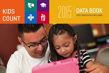 Image of cover of 2015 KIDS COUNT Data Book
