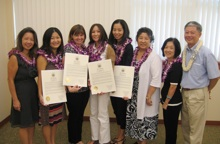Teachers and Hawaii Kids Savings project coordinators