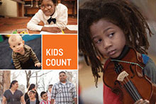 The KIDS COUNT 2014 Data Book cover