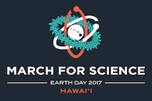 March for Science Hawaii logo