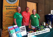 Master Gardeners at Ag Day at the Capitol