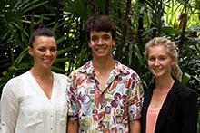 Pre-Vet students at the Mealani Taste of the Hawaiian Range