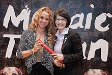 Jasmine Asuncion in the Mosaic Taiwan program