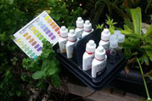Water quality testing supplies